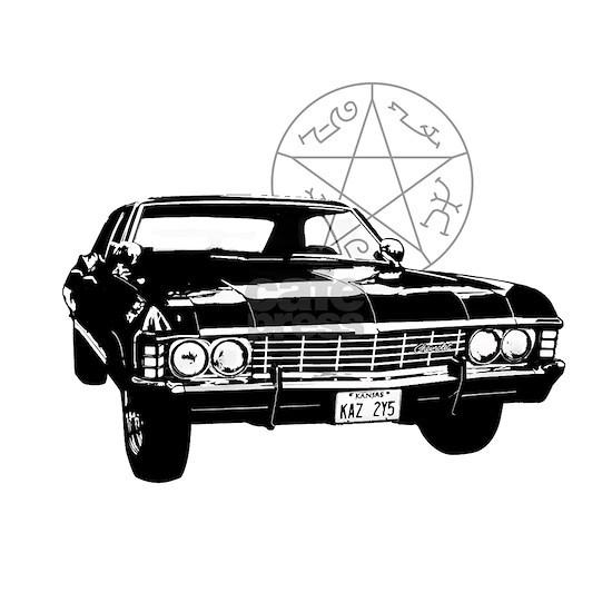 Impala with devils trap