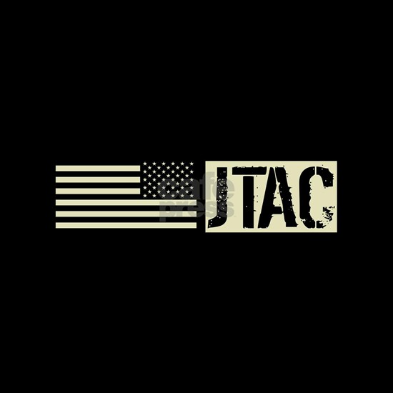 U.S. Air Force JTAC: Black Backwards Flag