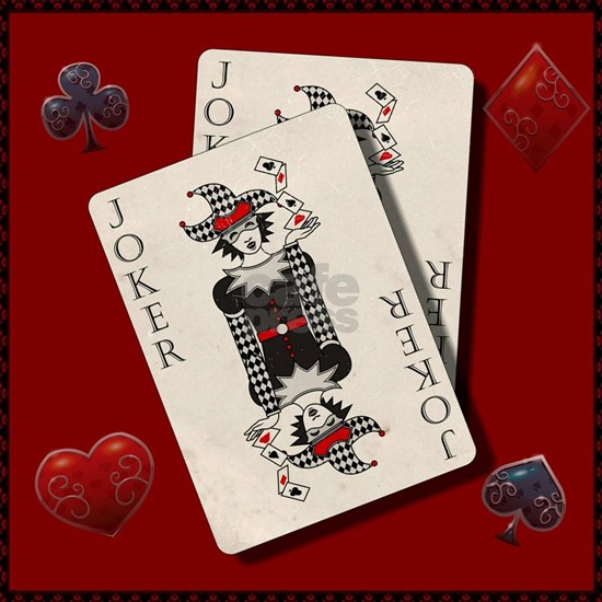 Joker playing cards