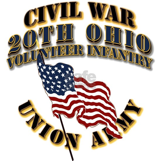 Civil War - 20th Ohio Volunteer Infantry - USA