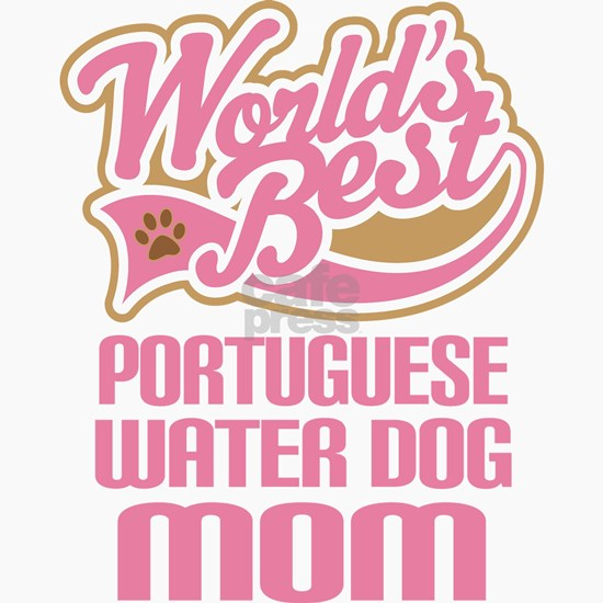 WB Portuguese Water Dog Mom
