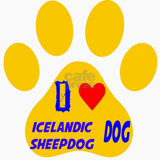 I Love Icelandic Sheepdog Dog