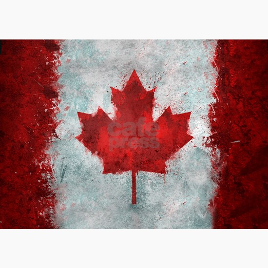Canadian Abstract Poster