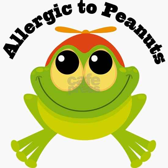 Allergic To Peanuts Frog
