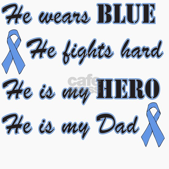 He is Dad Lt Blue Hero