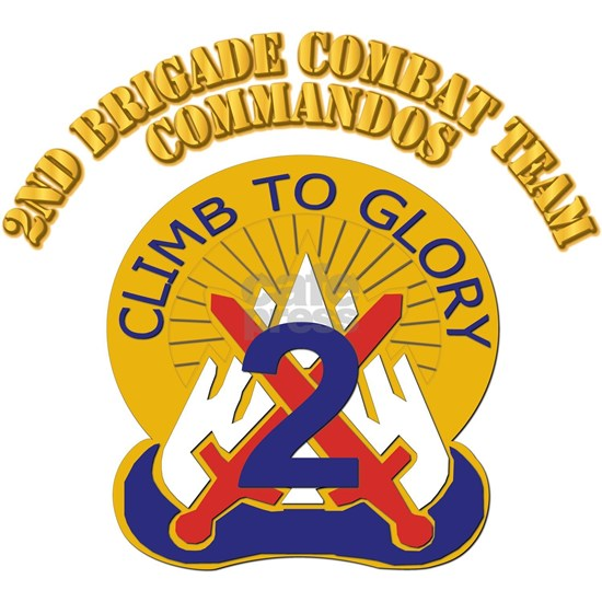 DUI - 2nd Brigade Combat Team - Commandos with Tex