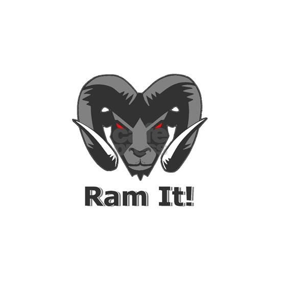 Grey Ram It Head