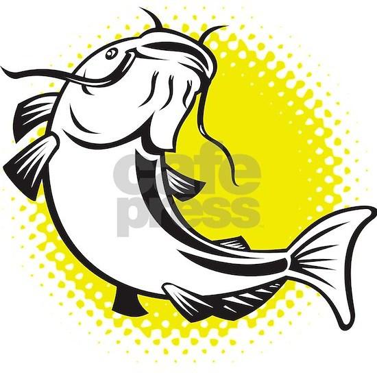 catfish swimming up
