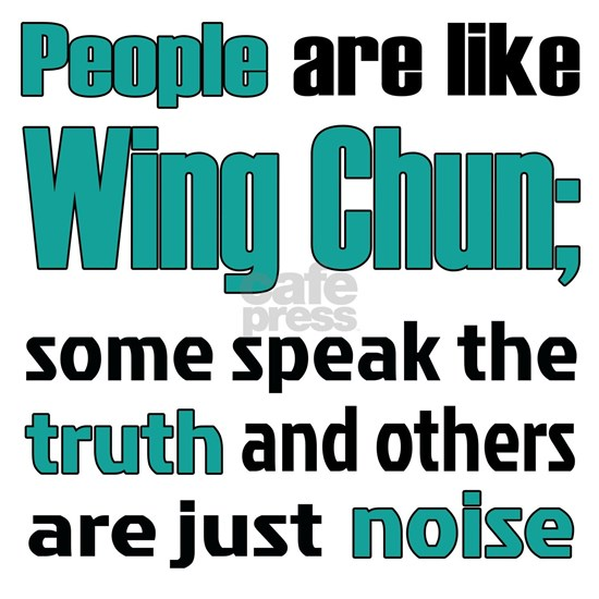 People are like Wing Chun