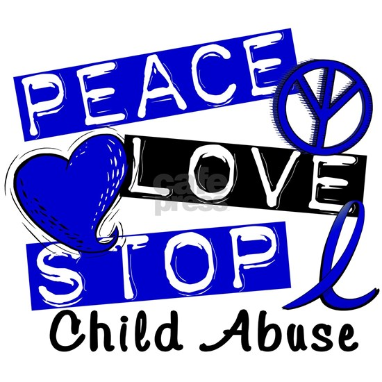 -Peace Love Stop Child Abuse