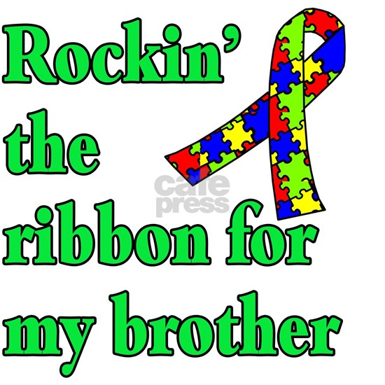 rockin the ribbon for my brother