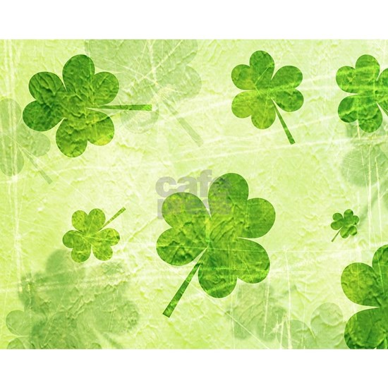 Green Shamrock Pattern