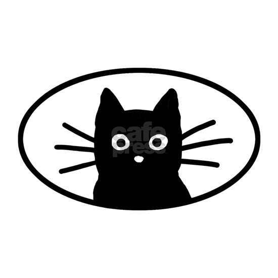 blackcatfacesticker