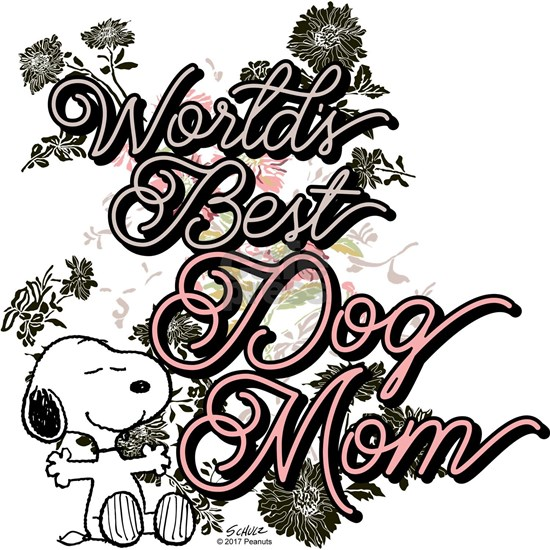 Snoopy World's Best Dog Mom