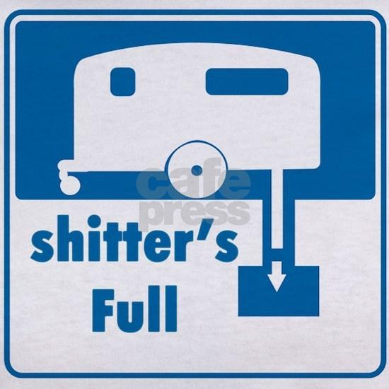 Shitter was full, so empty it