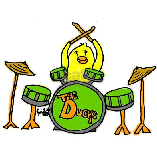 duckplayingdrums