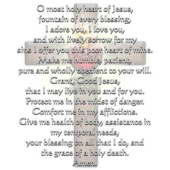 Sacred Heart of Jesus Cross