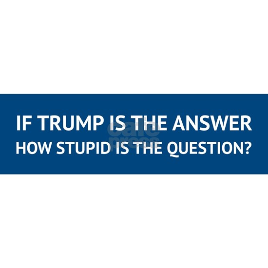 How stupid is the Question?