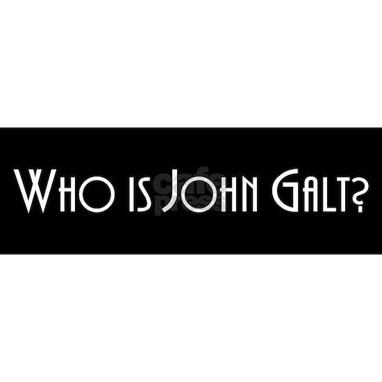 Who Is John Galt Sticker Bumper
