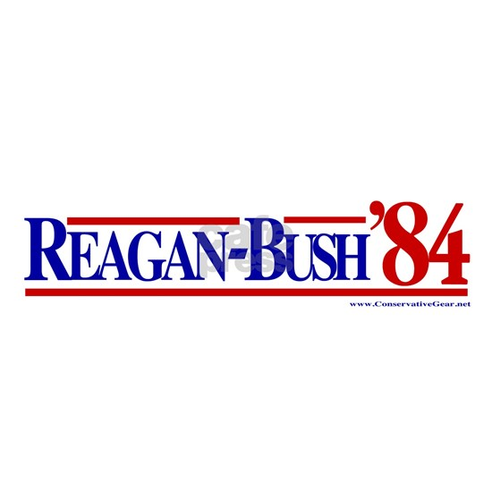 Reagan bush 1984 bs