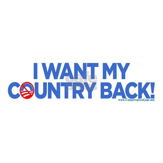 I Want My Country Back  bsCP