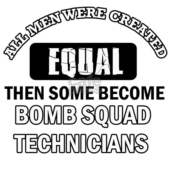cool Bomb Squad technicians design