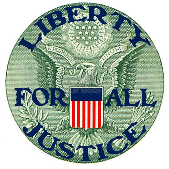 Eagle With Liberty  Justice for All II