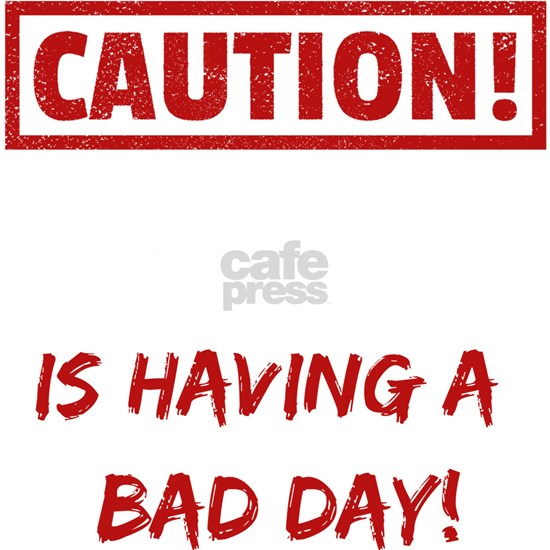 Caution Mateo is having a bad day Funny gift idea