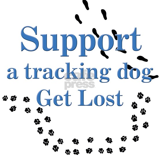 Support A Tracking Dog