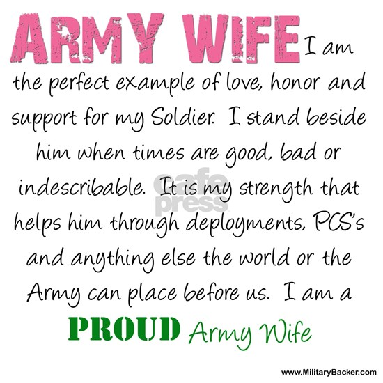 I am...Army Wife