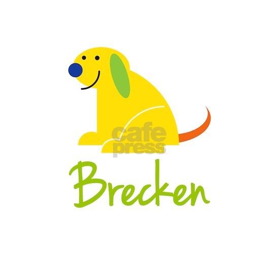 Brecken Loves Puppies Sticker (Bumper) Brecken Loves ...