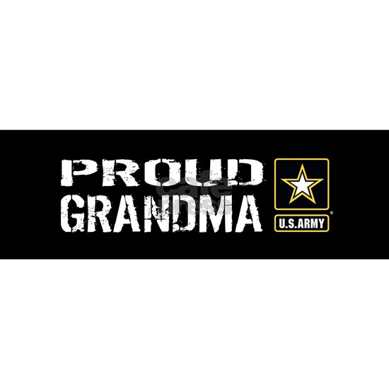 U.S. Army: Proud Grandma (Black)