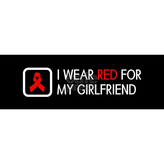 Red Ribbon: Red for my Girlfriend