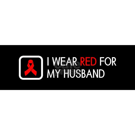 Red Ribbon: Red for my Husband