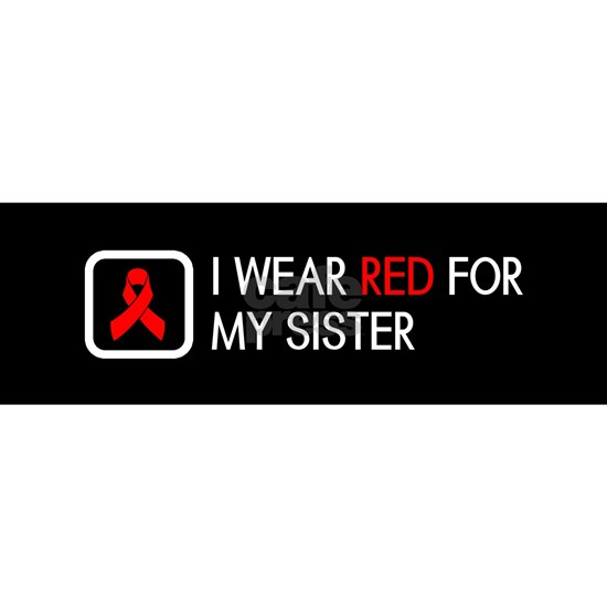 Red Ribbon: Red for my Sister