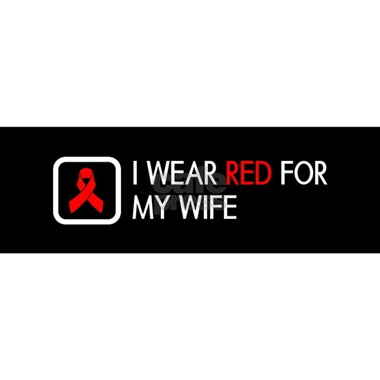 Red Ribbon: Red for my Wife