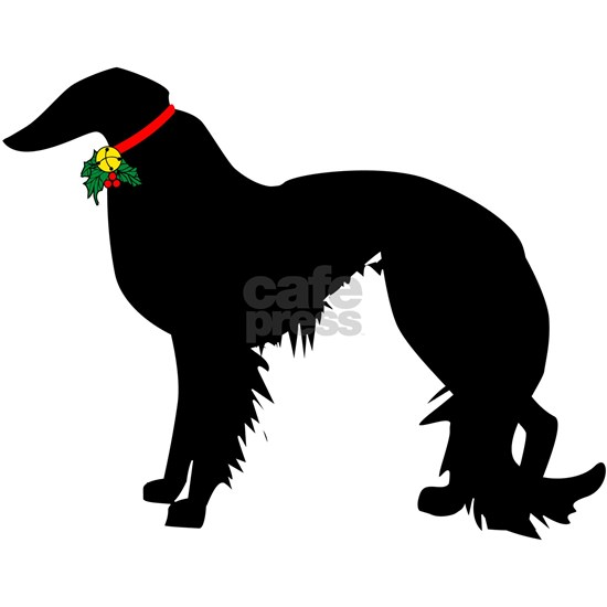Irish Setter Christmas or Holiday Silhouette