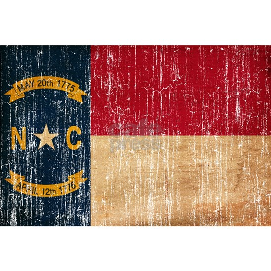 North Carolina textured aged copy