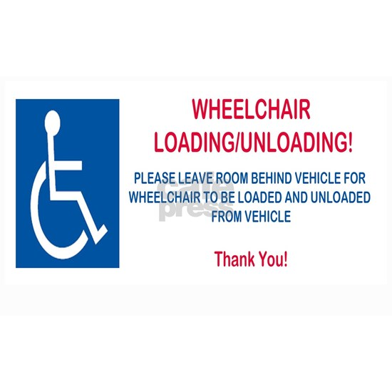 Wheelchair loading unloading 20x12