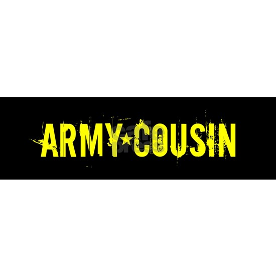 Army Cousin: Black and Gold