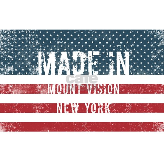 Made in Mount Vision, New York
