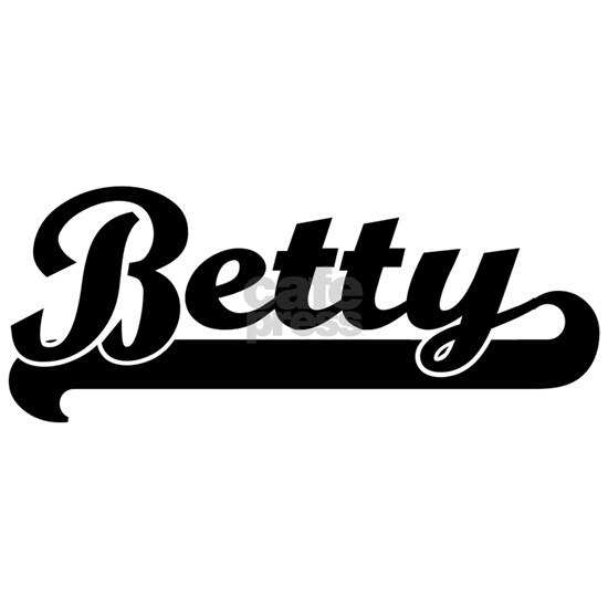 Black jersey: Betty