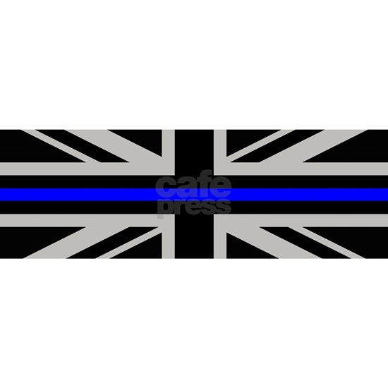 British Flag: Thin Blue Line