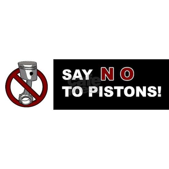 piston bumper sticker
