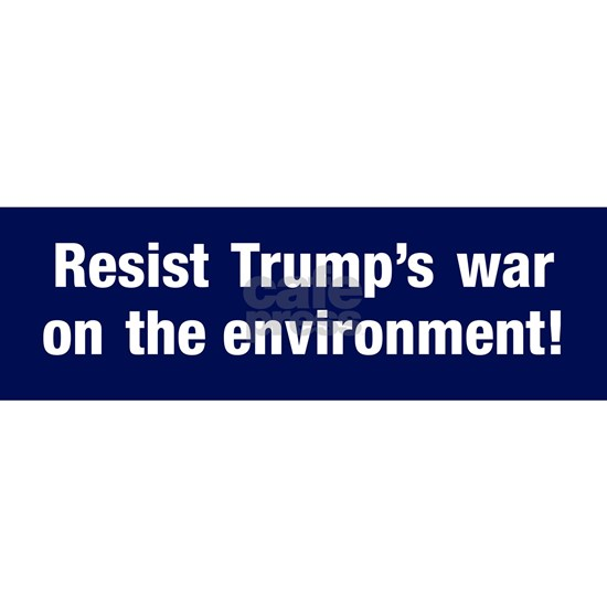 Trump's war on the environment
