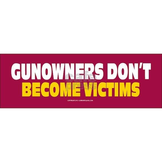 Anti Gun Control Sticker