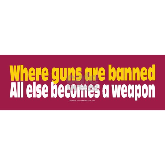 Guns Prevent Crimes Sticker