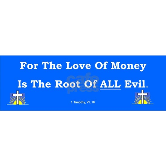 MoneyLoveBumperSticker