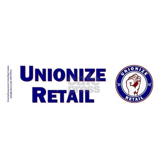 bumper sticker union retail