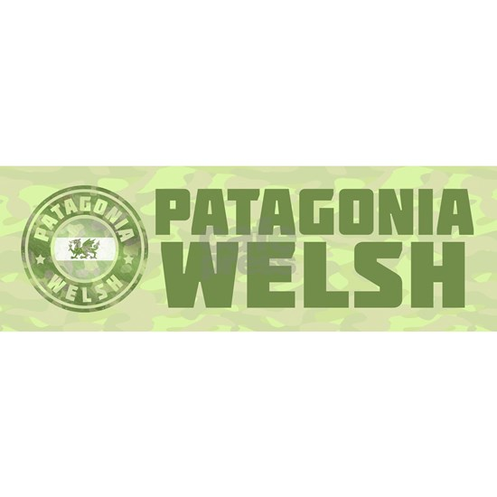 Patagonia Welsh Camo Sticker